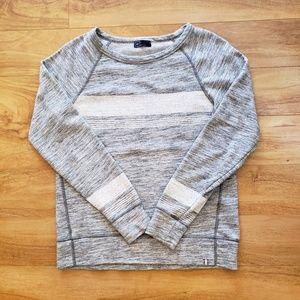 Cute GAP grey spacedye pullover sweatshirt M
